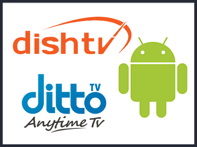 ditto tv & dish tv logo
