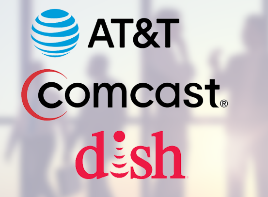 AT&T Comcast Dish