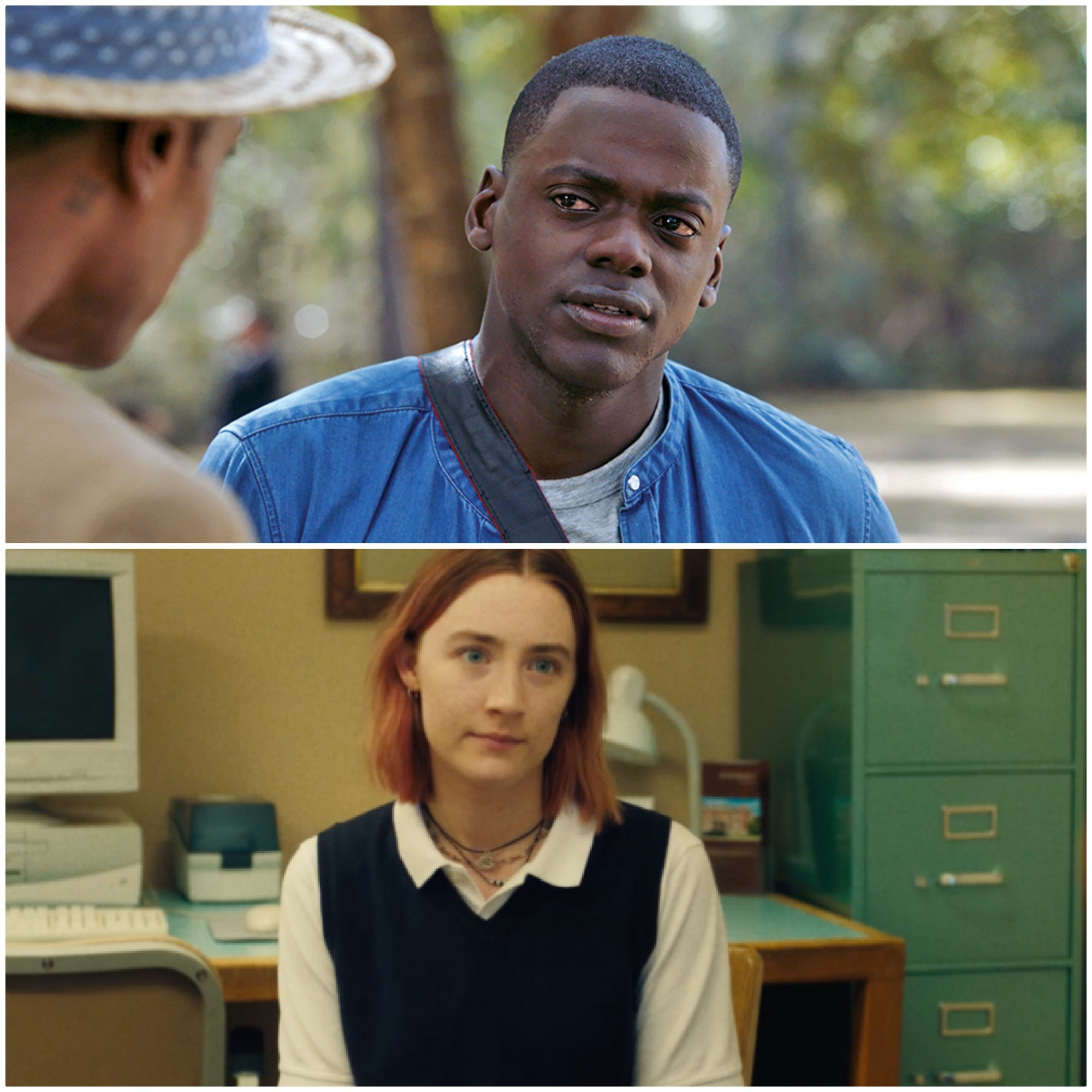 Get Out (Top) / Lady Bird (Bottom)